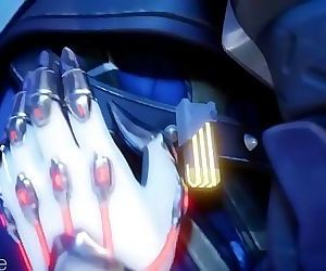 Sombra and Reaper Overwatch Animated Hentai 3D 1 min 12 sec HD