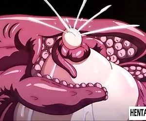 hentai girls with bigboobs getting tentacled. - 5 min