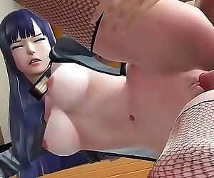 Teen in this 3D hentai is Young slim and attractive little tight wet pussy petite sexy slut wearing stockings for her..