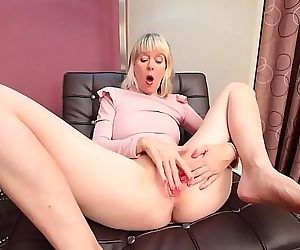 Mature caught masturbating 13 min HD+