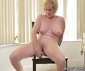 An older woman means fun part 17 18 min HD