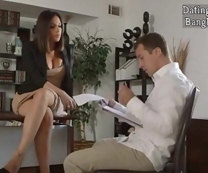 Hottest Office Slut Seduces To Make Him Sign A New Business Deal 27 min 720p