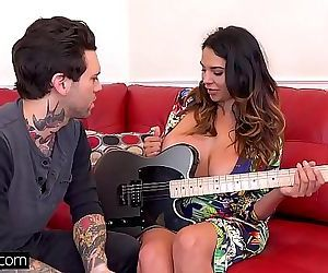 Missy Martinez gets her pussy pounded by her guitar teacher 11 min HD+